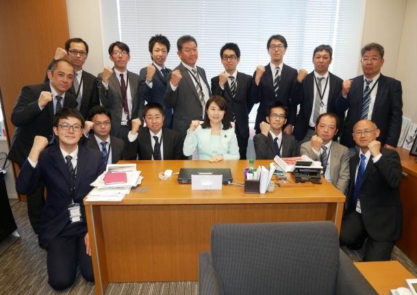 4/24(月)全国ガス 東邦ガス労組国会来訪