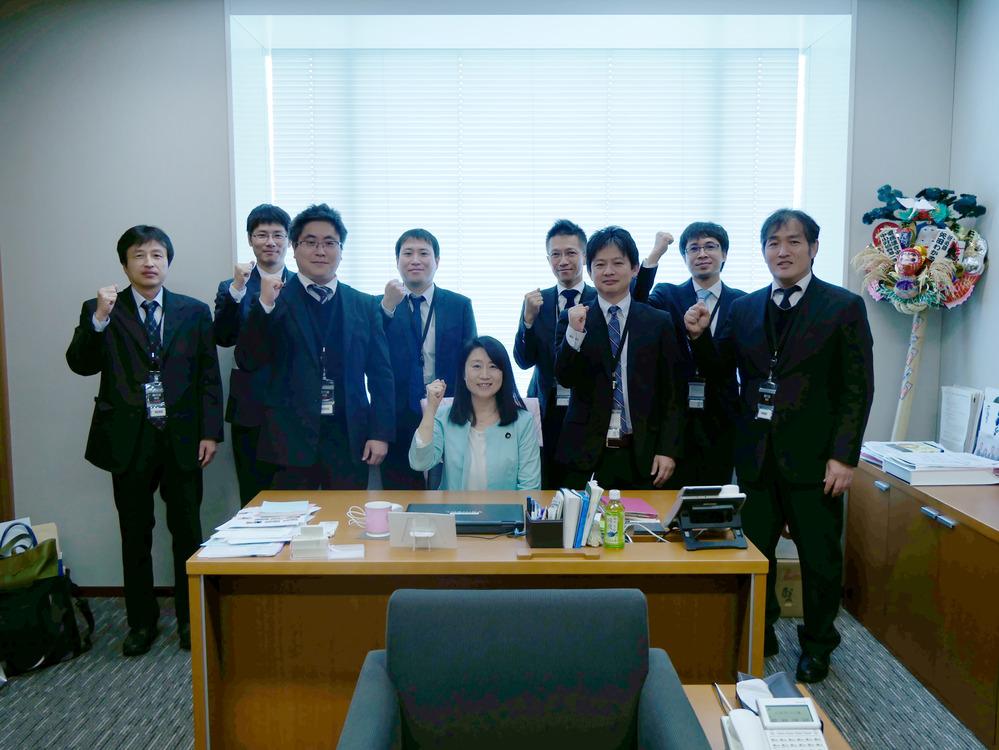 11/10(金) AVCテクノロジー労組 国会来訪
