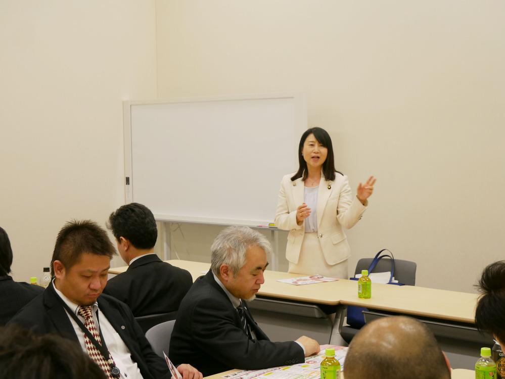 電機連合 石川地協の皆さんが国会へ