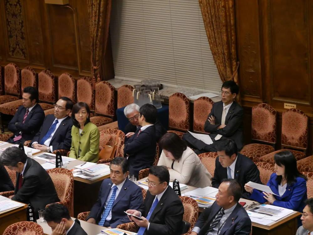 参議院予算委員会がスタート