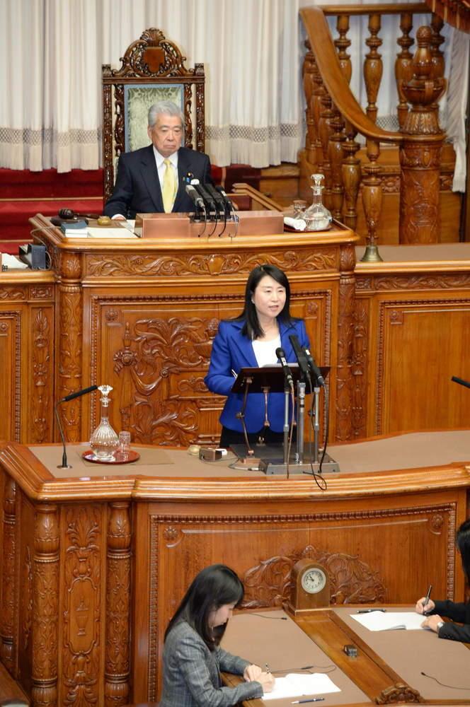 参議院本会議(代表質問)、パナソニックエコシステムズ労組・パナソニックリビング中部労組の皆さんが国会へ