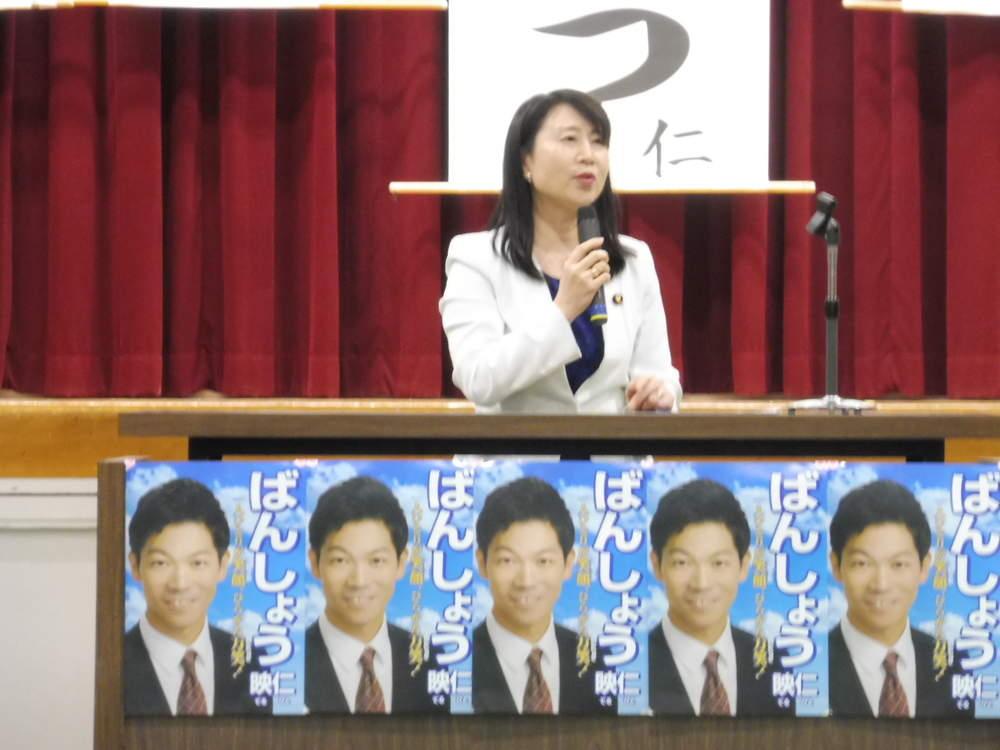 統一地方選挙(大阪)候補者の皆様を応援、激励