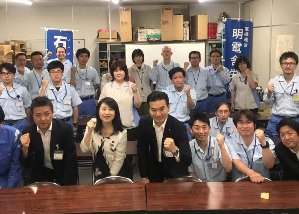 本日7月11日~明日12日 浅野議員と共に静岡県内を巡回