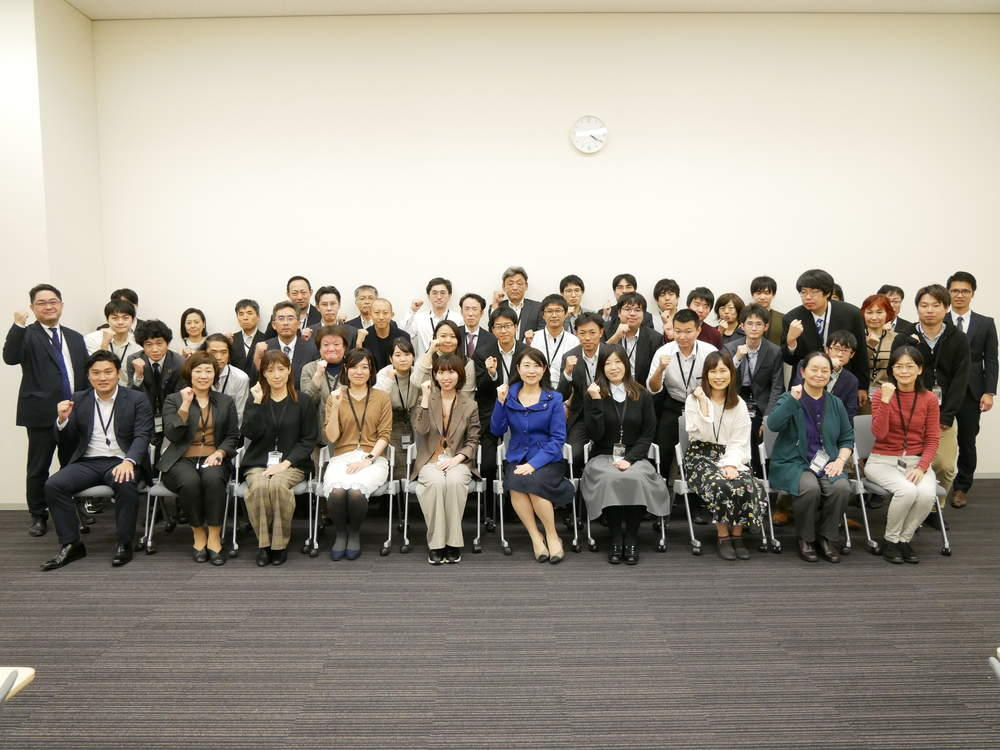 富士通労組プロダクトグループの皆さんが国会へ