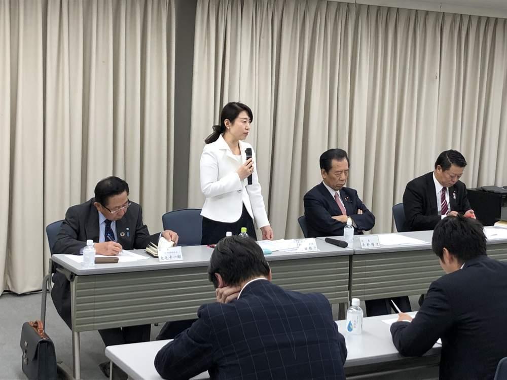 国民民主党大阪府連 三役会議 常任幹事会