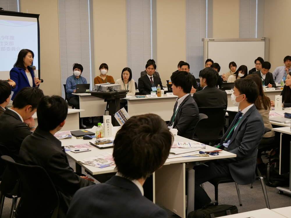 日本電気労組本社支部の皆さんが国会へ