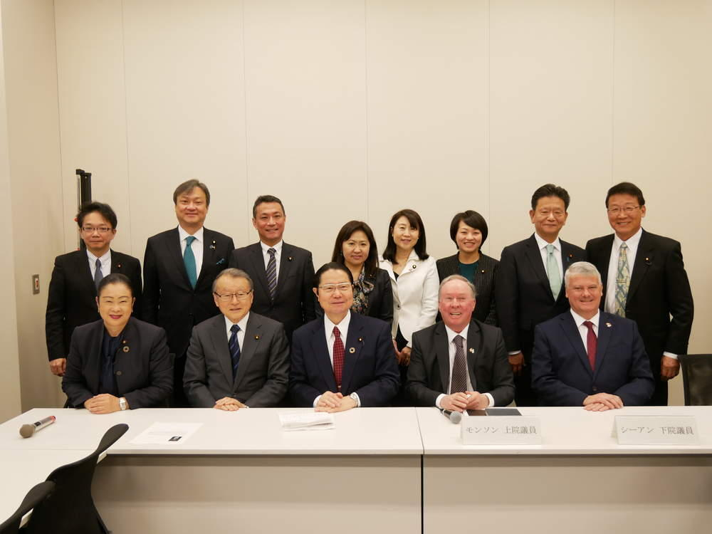 日本カナダ友好議連、日本退職者連合 院内集会