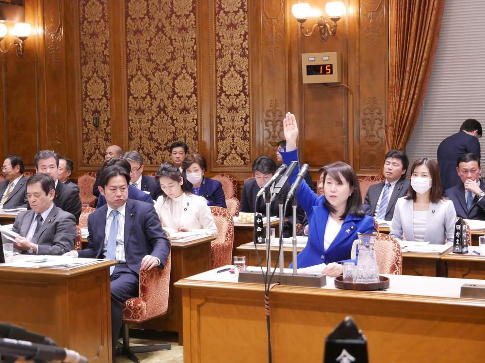 参議院予算委員会