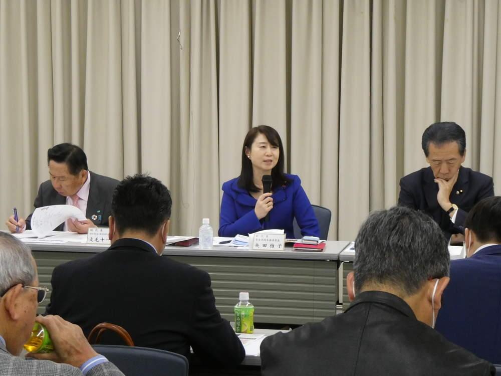 新型コロナウイルス感染症対策および令和2年度予算成立を共有 大阪府連会議