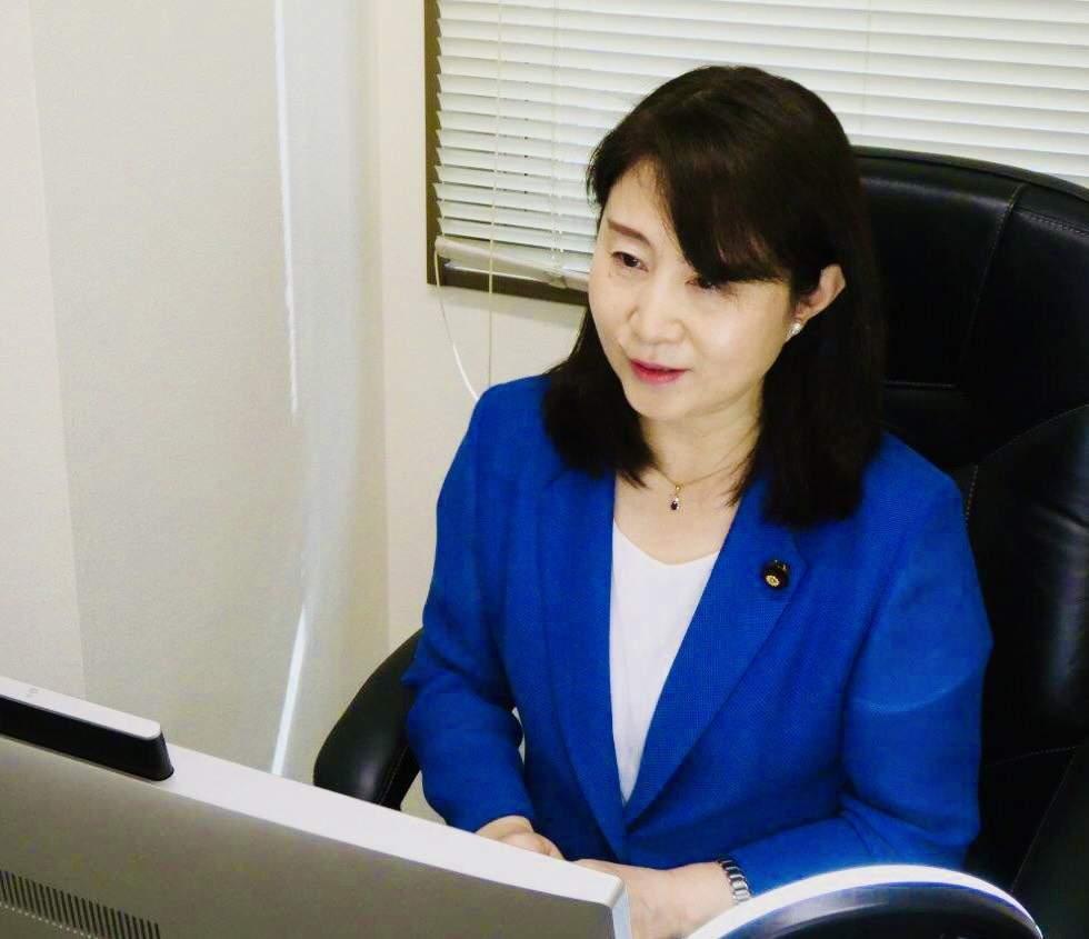 大阪で電機連合千葉地協議案オルグ、クォータ制を推進する会(Qの会)フォーラムにオンライン参加
