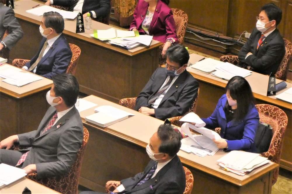 参議院予算委員会、電機連合・和歌山地域協議会国政報告ほか