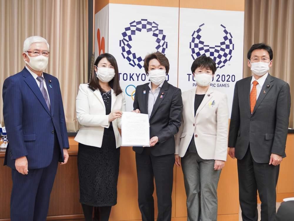橋本聖子内閣府特命担当大臣への申し入れ、第3回やたわかmeetsほか