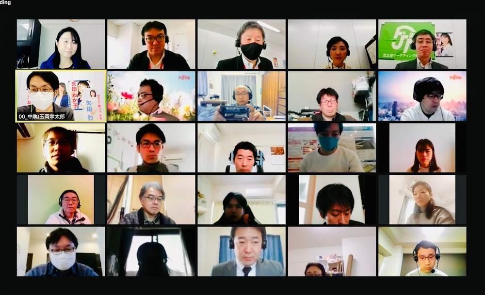富士通マーケティング労組国政報告、一般社団法人WIN WIN「赤松政経塾」講演