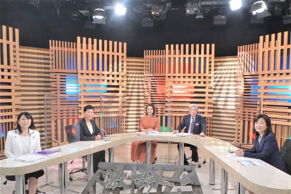テレビ討論番組出演(4月4日放映予定)