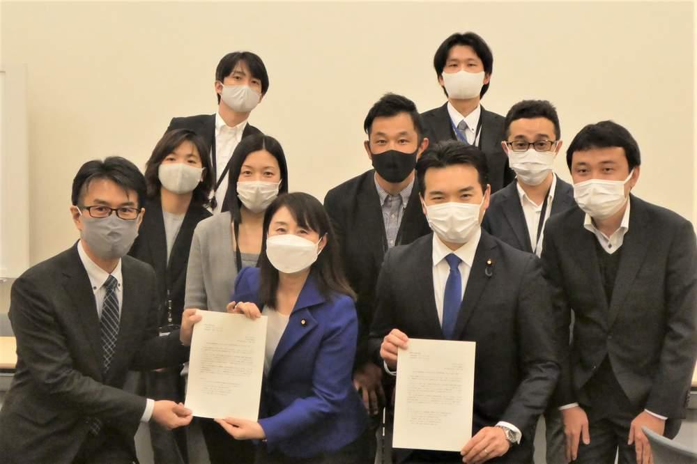 日本電気労組 政策要望、東芝労組R&D支部 国政報告 ほか