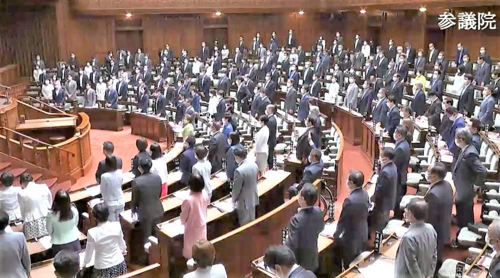 参院本会議 「政治分野における男女共同参画推進法一部改正法案」が可決
