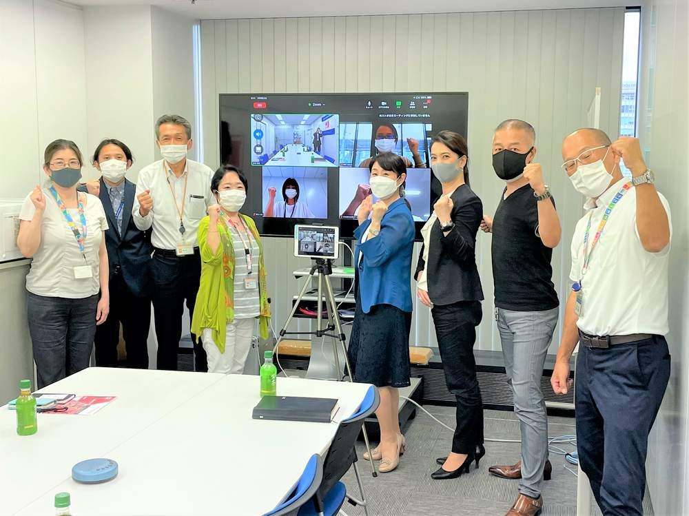 大阪での活動2日目 労組大会出席と組織訪問、会社幹部と大阪万博等について意見交換