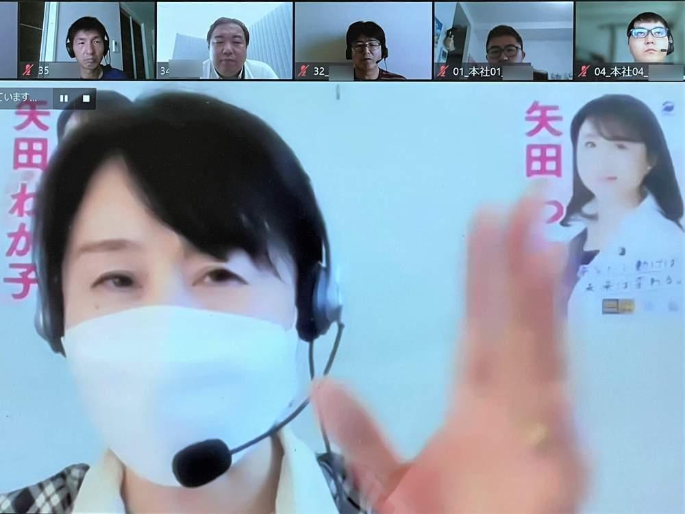 猛暑日が続く大阪での活動3日目 労組大会でのご挨拶が続く