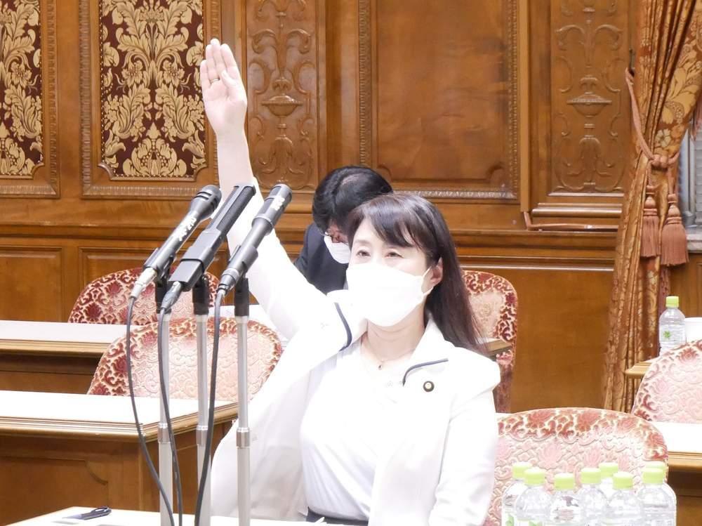 内閣委員会で感染抑制の新たな対策を求める 明日の議院運営委員会で再び質疑へ