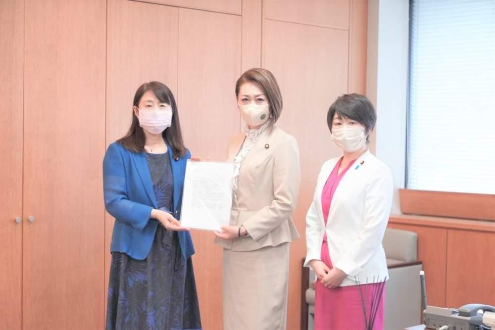 妊婦の優先的ワクチン接種等に関する厚生労働省への要請