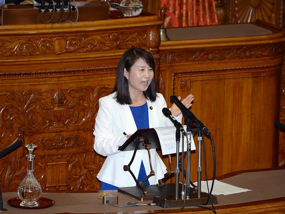平成29年6月16日(金) 参議院本会議 質問の動画掲載