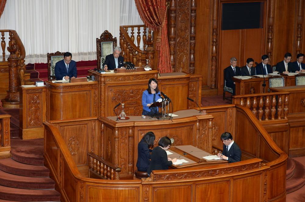 平成30年7月18日(水) 本会議『石井国務大臣問責決議案』