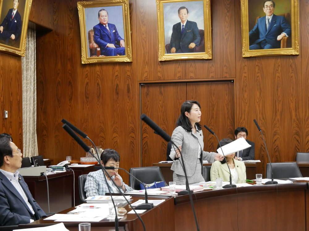 令和元年5月30日(木) 内閣委員会「地方分権一括法」質疑