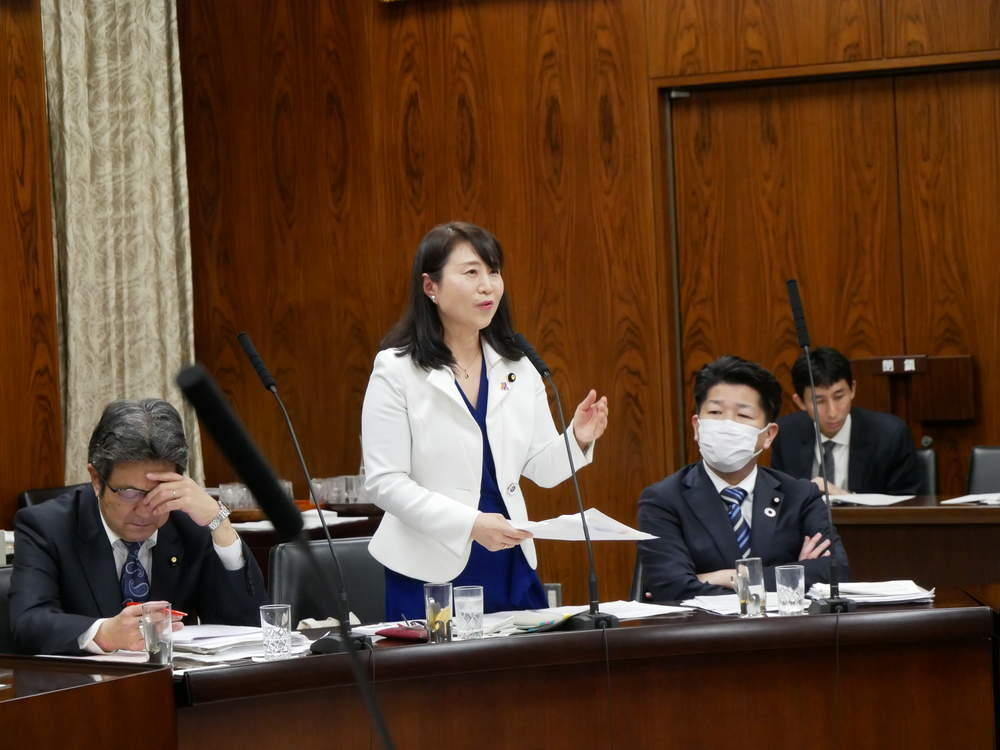 令和2年3月10日(水) 「参議院内閣委員会」所信質疑