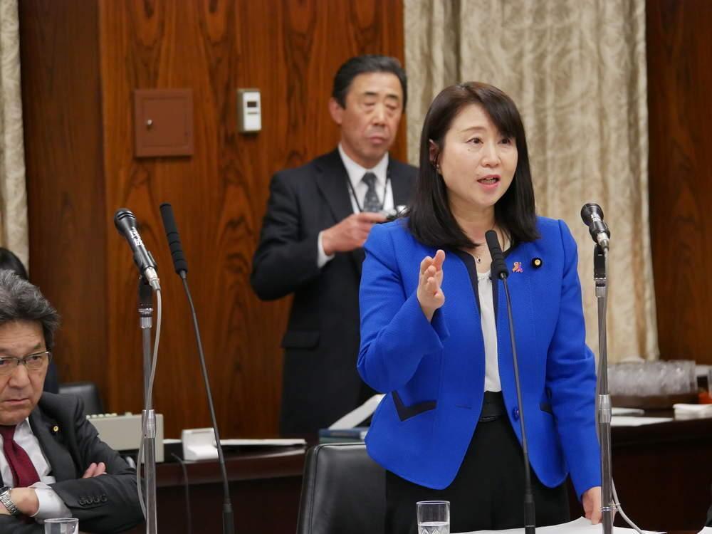 令和2年3月16日(月)  内閣委員会「新型インフルエンザ特措法改正」参考人質疑・一般質疑・討論