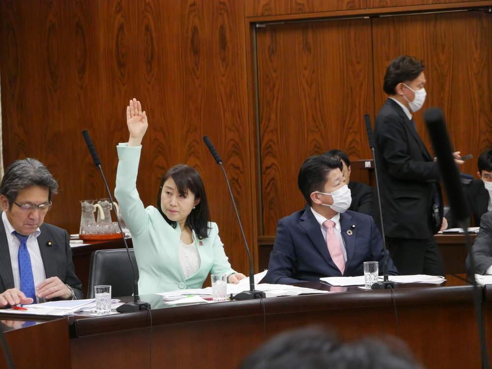 令和2年3月18日(水) 内閣委員会「予算 委嘱審査」質疑