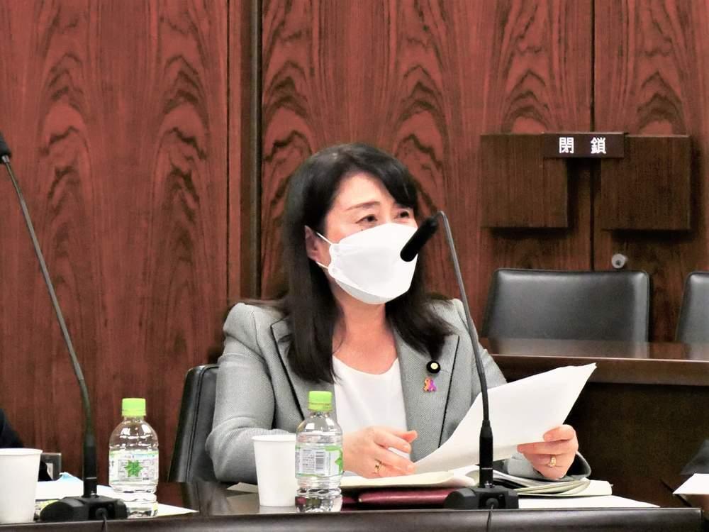 参議院内閣委員会(2021年5月6日)