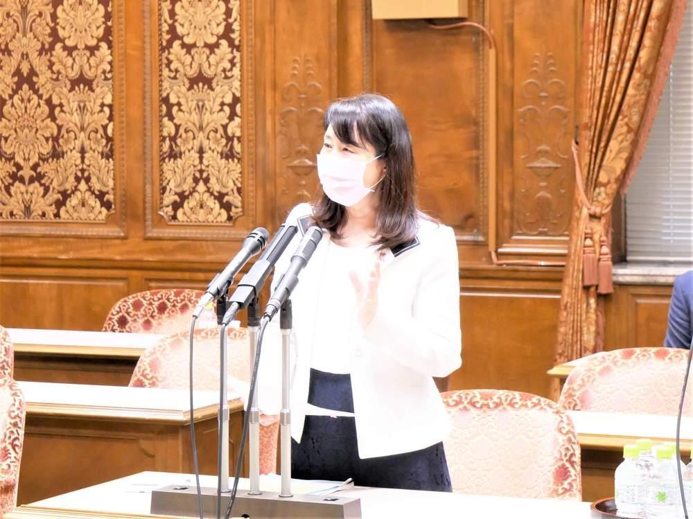 参議院内閣委員会(2021年6月8日)