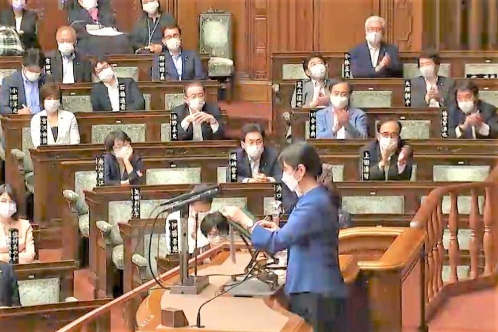 参議院本会議(2021年6月15日)